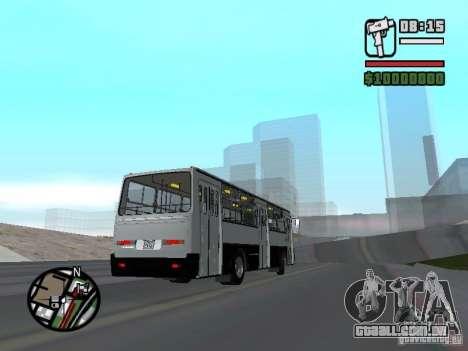 Ikarus 260.06 para GTA San Andreas vista direita