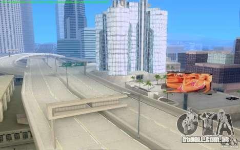 Estradas concretas de Los Santos Beta para GTA San Andreas sétima tela