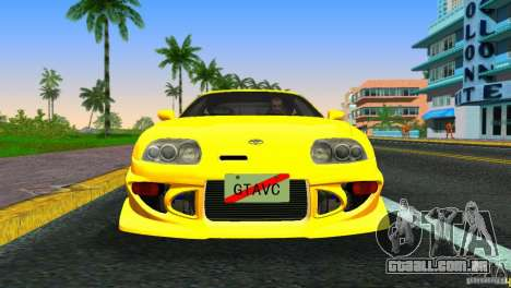Toyota Supra JZA80 C-West para GTA Vice City deixou vista