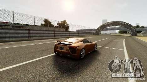 Lexus LF-A para GTA 4 vista interior