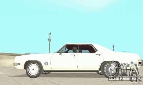 Pontiac LeMans 1971 para GTA San Andreas traseira esquerda vista