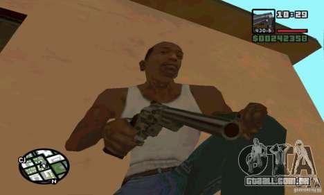 K.44 Magnum (Chrome) para GTA San Andreas segunda tela