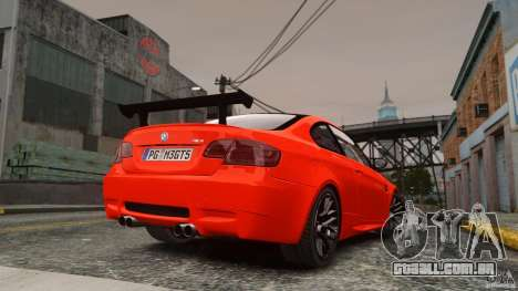 BMW M3 GTS Final para GTA 4 esquerda vista