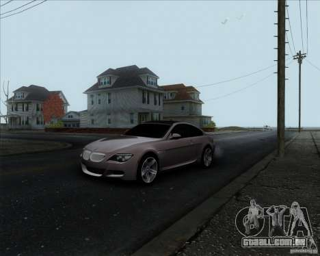 BMW 6 Series M para GTA San Andreas
