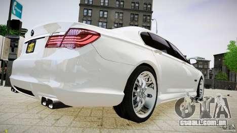 BMW 750Li Sedan ASANTI para GTA 4 esquerda vista