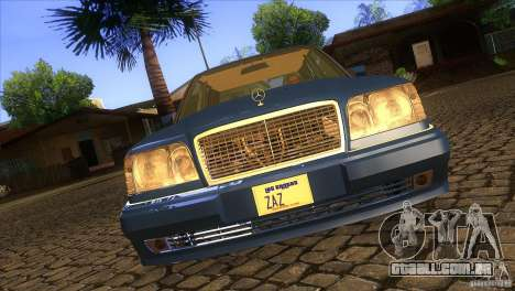 Mersedes-Benz E500 para GTA San Andreas vista inferior