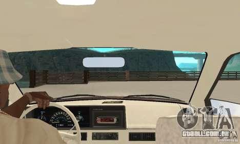 Oldsmobile Cutlass Ciera 1993 para GTA San Andreas vista traseira