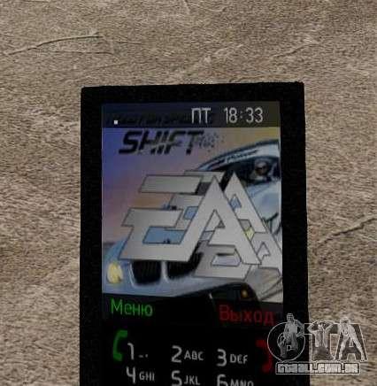 Novos temas para o seu telefone para GTA 4 sexto tela