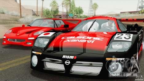 Nissan R390 GT1 1998 v1.0.1 para GTA San Andreas