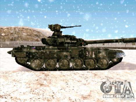 T-90 de Battlefield 3 para GTA San Andreas