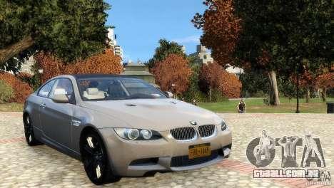 BMW M3 E92 2008 v1.0 para GTA 4