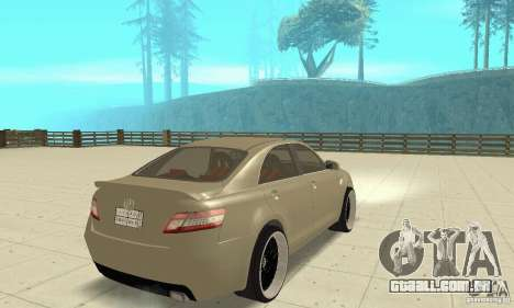 Toyota Camry Tuning 2010 para GTA San Andreas esquerda vista