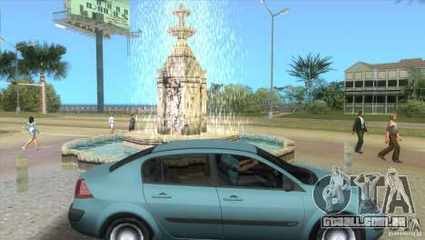 Renault Megane Sedan para GTA Vice City vista direita