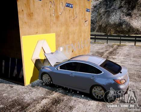 LC Crash Test Center para GTA 4 oitavo tela