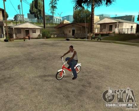 Tair GTA SA mota mota para GTA San Andreas