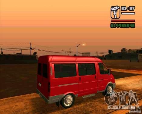 GAZ 22171 Sable para GTA San Andreas esquerda vista