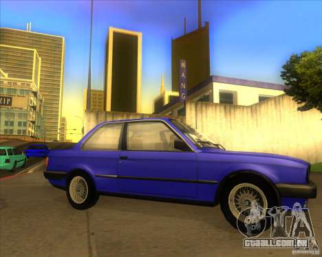 BMW E30 323i para GTA San Andreas vista direita
