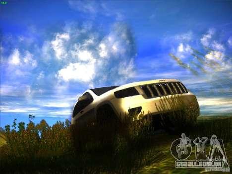 Jeep Grand Cherokee 2012 v2.0 para GTA San Andreas