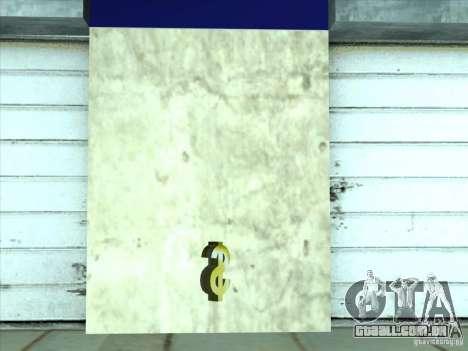 Negócio jurídico Cidžeâ para GTA San Andreas sexta tela
