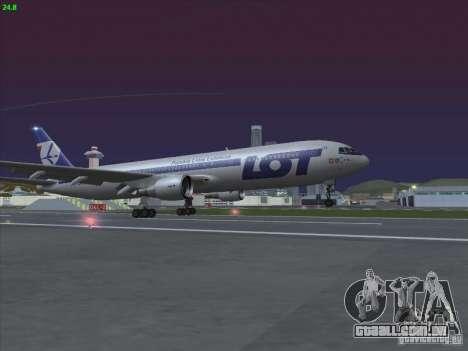 Boeing 767-300 LOT Polish Airlines para GTA San Andreas