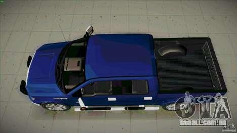 Ford Lobo Lariat Ecoboost 2013 para GTA San Andreas vista direita