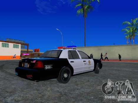 Ford Crown Victoria San Andreas State Patrol para GTA San Andreas vista direita