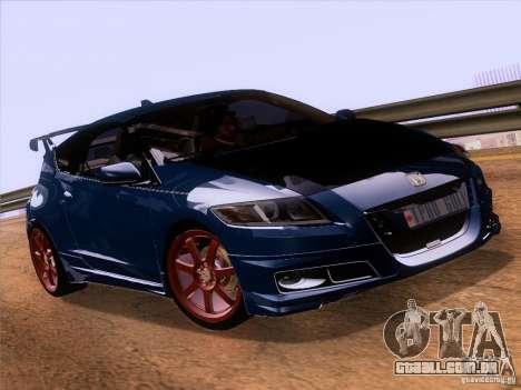 Honda CR-Z Mugen 2011 V2.0 para GTA San Andreas vista direita