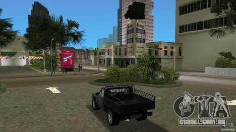 Anadol Pikap para GTA Vice City vista traseira esquerda