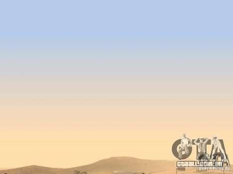 Timecyc - Purple Night v2.1 para GTA San Andreas quinto tela