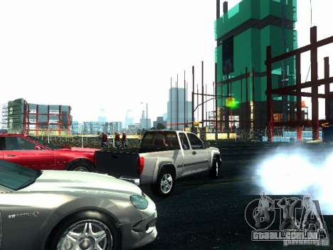 Chevrolet Colorado 2003 para GTA San Andreas vista traseira