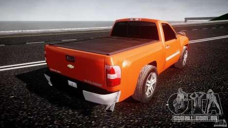Chevrolet Silverado 2011 para GTA 4 vista superior