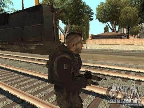 Captain MacTavish para GTA San Andreas segunda tela