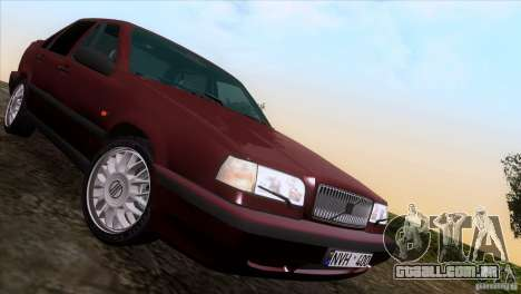 Volvo 850 Final Version para vista lateral GTA San Andreas