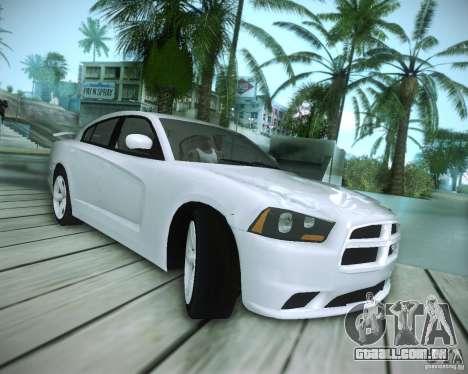 Dodge Charger 2011 v.2.0 para GTA San Andreas vista interior