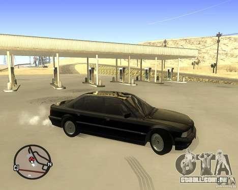 BMW 740il e38 para GTA San Andreas esquerda vista