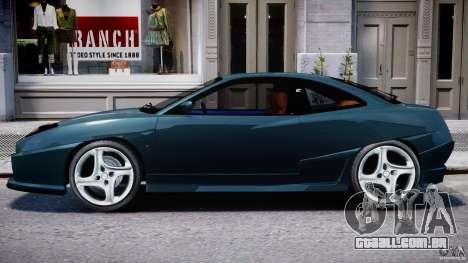 Fiat Coupe 2000 para GTA 4 traseira esquerda vista
