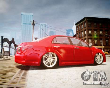 Toyota Corolla 2009 para GTA 4 esquerda vista