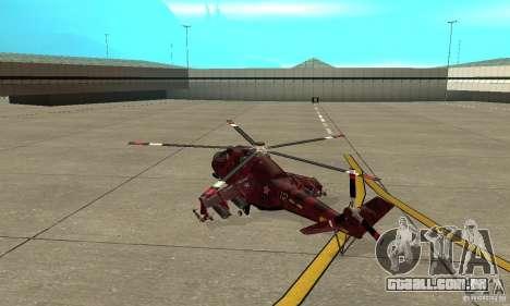 Mi-24 para GTA San Andreas
