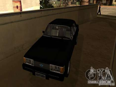 Chevrolet Opala BMT para GTA San Andreas esquerda vista