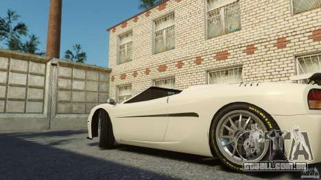 Turismo Spider para GTA 4 traseira esquerda vista