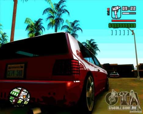 Vidro e novas luzes para GTA San Andreas terceira tela