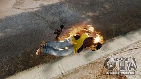 Balas de fogo para GTA 4 quinto tela