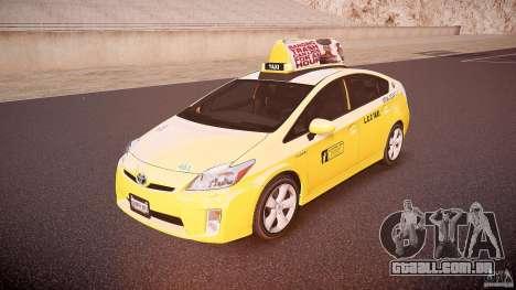 Toyota Prius LCC Taxi 2011 para GTA 4