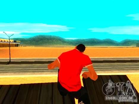 Repórter de pele para GTA San Andreas segunda tela