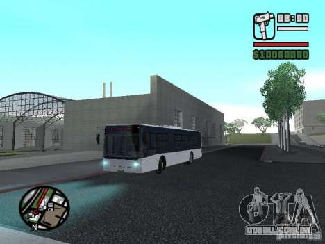 CityLAZ 12 LF para GTA San Andreas vista superior