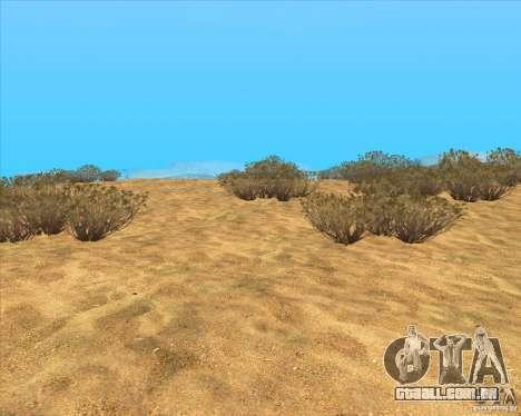 Desert HQ para GTA San Andreas terceira tela