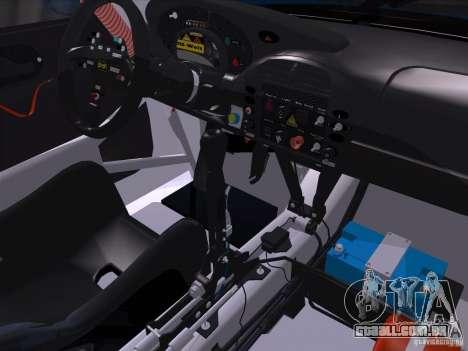 Porsche 911 GT3  RWB para GTA San Andreas vista traseira