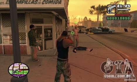 Nova vista para GTA San Andreas por diante tela