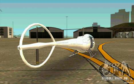 Dragonfly - Land Version para GTA San Andreas vista direita