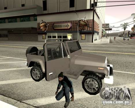 Tampa do sistema para GTA San Andreas